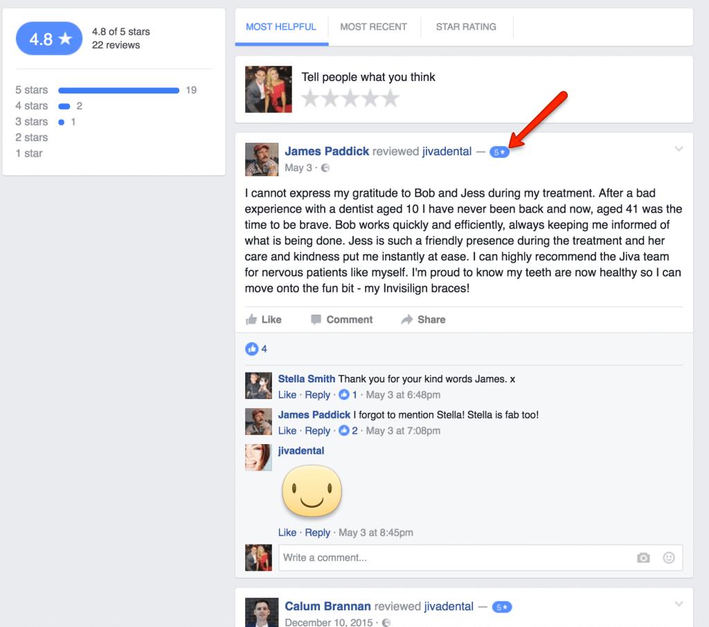 dental-facebook-reviews
