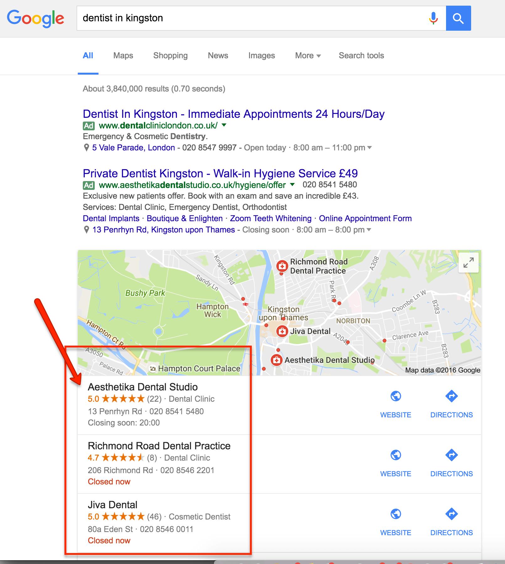 dental-google-reviews